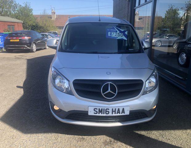 2016     £7250 Mercedes  Titan 109 CDI 1.5, 5dr Diesel