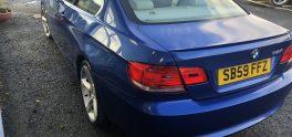 2009 BMW  325I SE Highline 3.0, 3dr Petrol