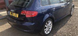 2012 Audi  A3 Sport TFSI1.4, 5dr Petrol