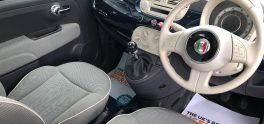 2013 Fiat  500 Lounge 1.2, 3dr Petrol