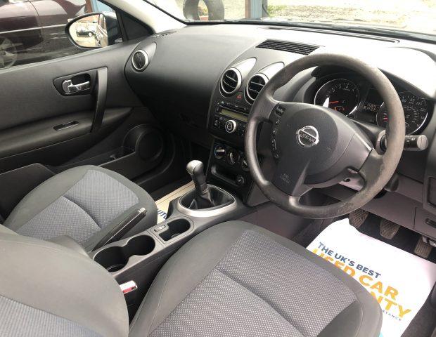 2010 Nissan  Qashqai1.6, 5dr Petrol
